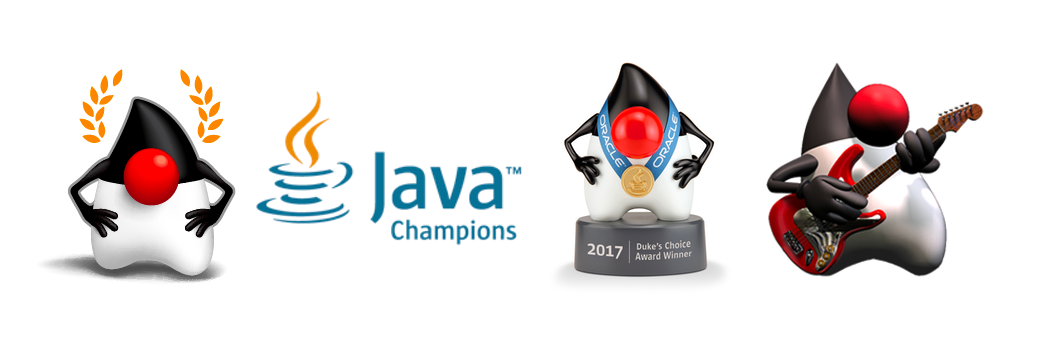 Java Champion, Dukes Choice Award Winner, and JavaOne Rockstar